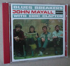 CD  ***  JOHN MAYALL WITH ERIC CLAPTON.  BLUES BREAKERS  ***