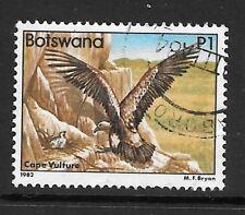 BOTSWANA SG531 1982 1p CAPE VULTURE   FINE USED