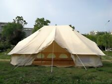 US Warehouse Available 6*4M Emperor Bell Tent Cotton Canvas Luxury Hotel Tent