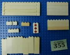 LEGO yellow plates 2x2,2x3,2x4 also 6x10 ideal for truck rail wagon etc 338-40