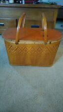 Redmon Vintage Picnic Basket