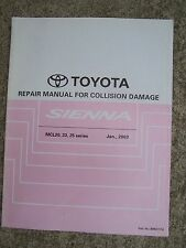 2003 Toyota Sienna MCL 20 23 25  Series Collision Damage Auto  Repair Manual   R