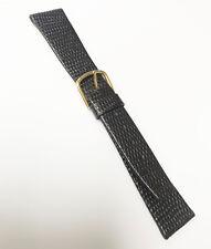 CYMA Original Genuine Brand New 19mm Dark Brown Lizard Leather Watch Band
