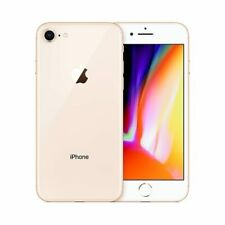 AT&T / Cricket / h2O Apple iPhone 8 Gold 4G LTE GSM 64GB Smart Video Cell Phone