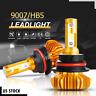 9007 HB5 LED Headlight Conversion Kit 1700W 255000LM High Low Beam Bulbs 6000K