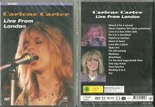DVD - CARLENE CARTER : EN CONCERT LIVE FROM LONDON / NEUF EMBALLE - NEW & SEALED