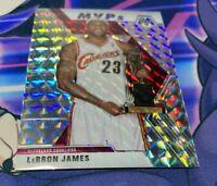 2019-20 Panini Mosaic Lebron James MVP's Silver Mosaic Prizm Cavaliers #298