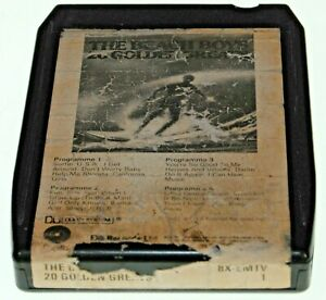 THE BEACH BOYS 20 GOLDEN GREATS  / B- / 8-track 8 track tape cassette cartridge