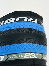 Vittoria Rubino Pro 700x23c 23-622 Cycling Tire Elusion Nero Fraxion Blue Wall