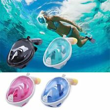 Anti-Fog Swimming Diving Full Face Snorkel Scuba Mask Surface For GoPro L/XL