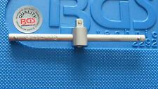 "BGS TOOLS T BAR 115mm  CHROME VANADIUM FOR 1/4"" SQUARE DRIVE TOP QUALITY"
