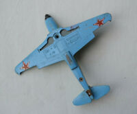 USSR military plane Yak-3 Soviet aircraft diecast metal toy Scale Model vintage