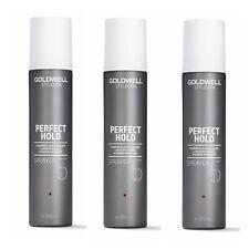3 x Goldwell PERFECT HOLD SPRAYER 300 ml = 900 ml deutsche Produkte
