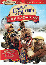 Emmet Otters Jug-Band Christmas- Dvd- 1977- Jim Henson- Muppets