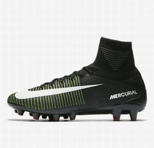 Nike Mercurial Superfly V AG - PRO UK 8 EUR 42.5 Black White ACC 831955 013