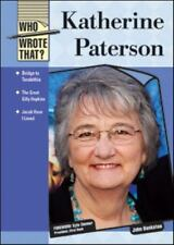 Katherine Paterson (Who Wrote That?)-ExLibrary