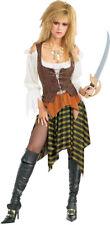 Pirate Wench Adult Womens Costume Standard Corset Skirt Sexy Halloween