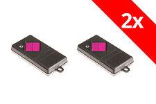 2 Dickert  Handsender 1-Befehl 40,685 Mhz FM FHS10-01 komp. Normstahl FHS