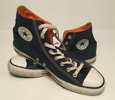 Converse Chuck Taylor All Star Sneakers Mens Size 12 High Top Shoes Blue Orange