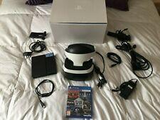 PlayStation 4 VR (PSVR) Bundle Headset, Camera - Plus Ultimate VR Collection