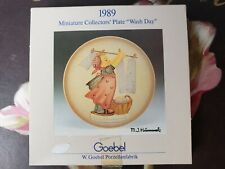 1984 to 1989 Miniature Collector's Plate 6