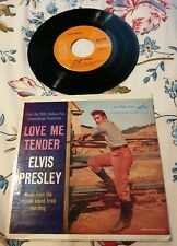 Disque 45 tours Elvis Presley - Love Me Tender - EPA-4006 (mint record)