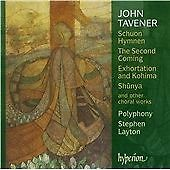 John Tavener: Schuon Hymnen/The Second Coming/... CD NEW