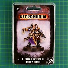 Baertrum Arturos III, Bounty Hunter Necromunda Underhive Forge World #12011