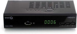 WWiO TRINITY T2 / C BASIC DVB-T2 / C Combo HD Receiver for Digital Antennas