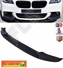 BMW 5 SERIES F10 F11 M SPORT FRONT DIFFUSER SPLITTER LIP SPOILER CARBON FIBRE