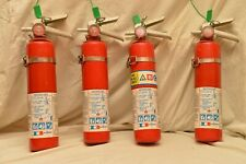 2.5# ABC DRY CHEMICAL FIRE EXTINGUISHERS  (LOT OF 4) REFURBISHED & RECHARGEABLE