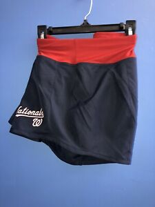 RARE!!!  MLB Nike Women's Washington Nationals Crew Shorts Size XL