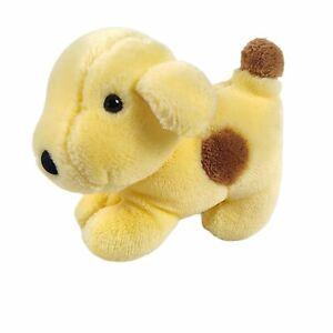 "Eden Eric Hill Spot Yellow Puppy Dog Plush 6"" Mini Stuffed Animal Vintage 1993"