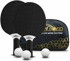 Senston Professional Ping Pong Paddles Set 2 Table Tennis Balls Storage Bag