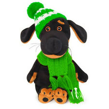 Budi Basa - Vakson Baby in hat and scarf Hund mit Mütze und Schal 20 cm groß