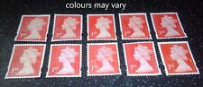 10 first 1st class stamps unfranked off paper no gum uk free post good quality