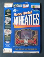 Troy Aikman--Dallas Cowboys--1996 Honey Frosted Wheaties Cereal Box
