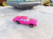 Hot Wheels Custom Charger - Pink - AWESOME - Vintage Dodge Redline
