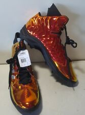 NEW Adidas Nastyquick MD Strategy Shiny Orange Red Football Cleats Size 18
