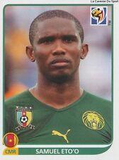 N°408 SAMUEL ETO'O # CAMEROON STICKER PANINI WORLD CUP SOUTH AFRICA 2010