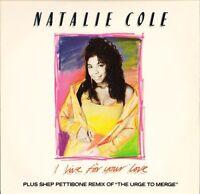 "NATALIE COLE i live for your love 12 MT 57 uk emi manhattan 1988 12"" PS EX/EX"