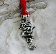 CHINESE DRAGON CHINA Pewter Christmas ORNAMENT Holiday