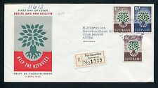 Suriname FDC E14 _ 1M, code 13, aangetekend met adres ;