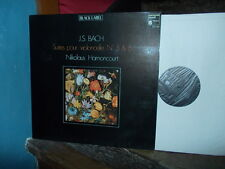 BACH: Violoncello suites n°5 & 6   Nikolaus Harnoncourt / Harmonia Mundi LP