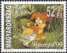 Hungary 1999 Youth Stamps/Bobo/Dog/Hare/Film/Cinema/Cartoons/Animation 1v (s572)