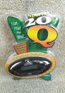 Radica Sports 20 Questions 20Q, 2006, New in Package
