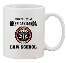 University Of American Samoa Law School Samoan TV DT Ceramic White Coffee Mug