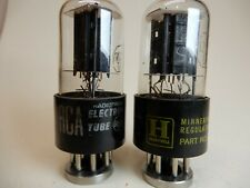 RCA  12SN7 Vacuum Tubes Amplitrex Tested 100/96% and 103/103%