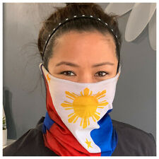 Philippines Neck Gaiter Filipino Face Mask Balaclava Pinoy Pinay Gaiter Mask