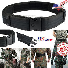 New 1.3M Woodland Camo Waistband Tactical Hunting Outdoor Sports Field Belt USA
